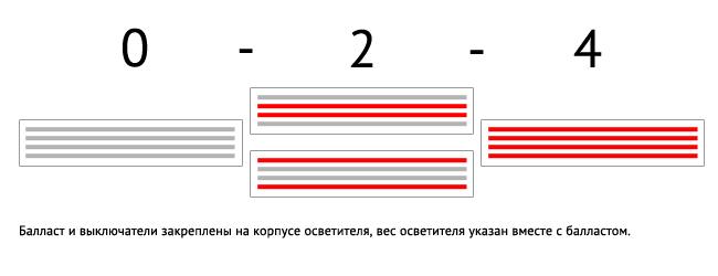Схема включения ламп rdl1200s